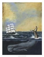 Whaling Stories I Framed Print