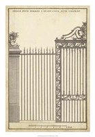 Antique Decorative Gate II Fine Art Print