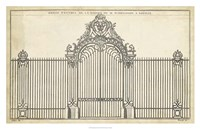 Antique Decorative Gate III Fine Art Print