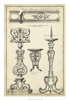 Antique French Ornament II Fine Art Print