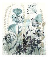Allayed Floral I Framed Print