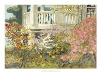Aquarelle Garden V Framed Print