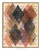 Inked Triangles I Framed Print