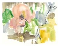Whimsy in The Garden II Framed Print