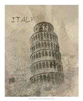Remembering Italy Framed Print