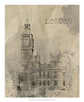 Remembering London Framed Print