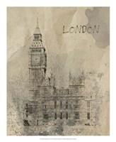 Remembering London Framed Print