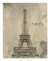 Remembering Paris Framed Print