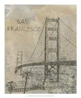 Remembering San Francisco Framed Print