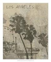 Remembering Los Angeles Framed Print
