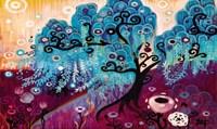 Blue Willow Fine Art Print