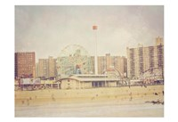 Coney Island Ferris 2 Fine Art Print