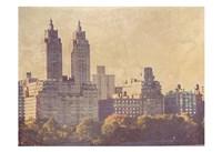 Central Park West Fine Art Print