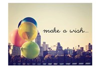 Make A Wish NYC Fine Art Print