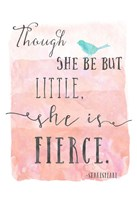Little Fierce Fine Art Print