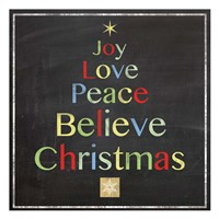 ChristmasTree Framed Print