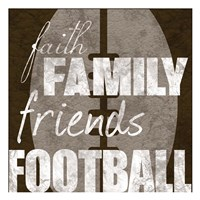 Football Friends Fine Art Print