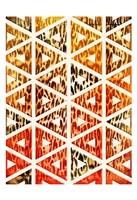 Triangular Animals Bright Fine Art Print