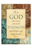 God Arms Framed Print