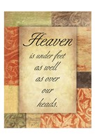 Heaven Framed Print