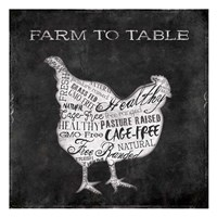 Farm To Chicken Fine Art Print
