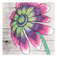 Fun Time Flower Framed Print