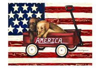 America Friends Fine Art Print