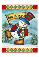 Let it Snow II Framed Print