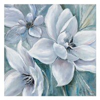 White Satin Fine Art Print