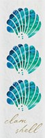Clam Shell Panel Framed Print