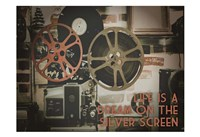 Silver Screen Cinema Pair 1 Framed Print