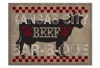 Kansas Beef BBQ Framed Print