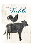 Farm To Table Fine Art Print