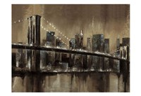 Brooklyn After Dark Fine Art Print