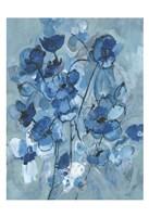 Blue Hue Bouque Fine Art Print