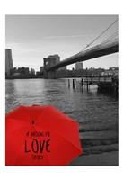 Magical Evening @ Brooklyn Brdg Fine Art Print
