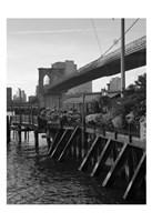 A NY Exprience Framed Print