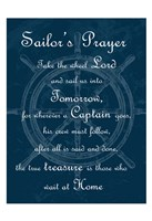Sailor's Prayer 1 Framed Print