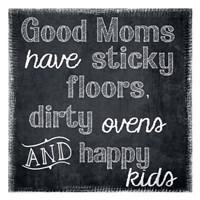 Good Moms Framed Print