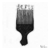 Afro Pick Fine Art Print