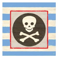 Pirate Stripe Fine Art Print