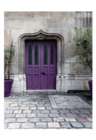 Purple Door 4 Fine Art Print