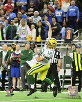 Aaron Rodgers game winning touchdown pass- December 3, 2015 Fine Art Print