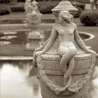 Giardini Italiano I Framed Print