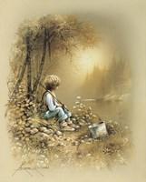 Little Boy Fine Art Print