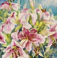 Pink Lilies Fine Art Print