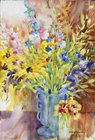 Blue Vase Fine Art Print