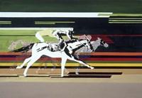 Race Horses Fine Art Print
