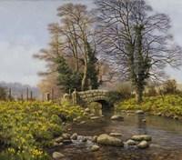 Daffodil Bridge Fine Art Print