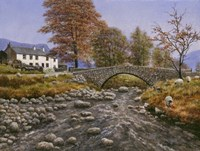 Old Packhorse Bridge Fine Art Print